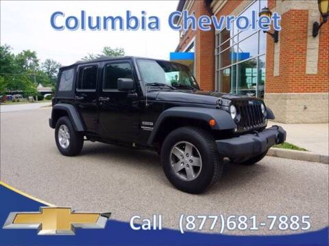 2014 Jeep Wrangler Unlimited for sale at COLUMBIA CHEVROLET in Cincinnati OH