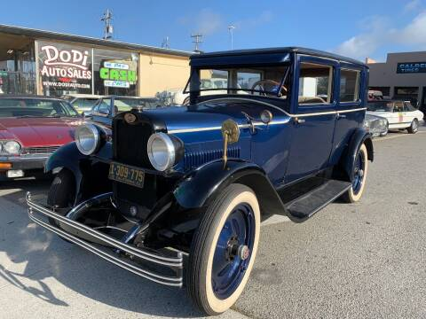 1928 Essex Super Six for sale at Dodi Auto Sales in Monterey CA