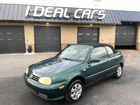 2001 Volkswagen Cabrio for sale at I-Deal Cars in Harrisburg PA