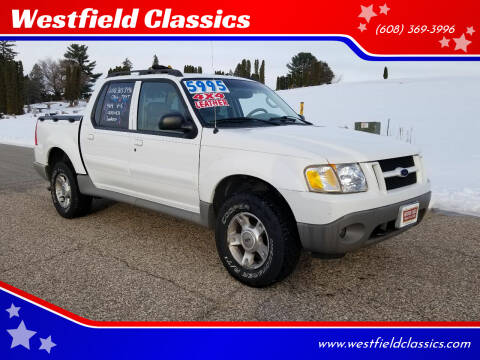 2003 Ford Explorer Sport Trac for sale at Westfield Classics in Westfield WI