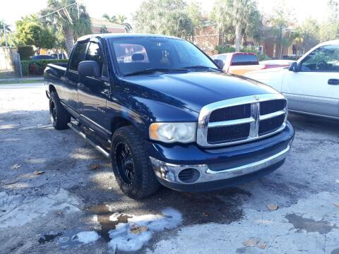 2004 Dodge Ram Pickup 1500 for sale at LAND & SEA BROKERS INC in Deerfield FL