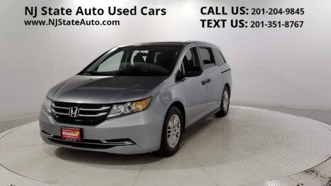 2016 Honda Odyssey for sale at NJ State Auto Auction in Jersey City NJ