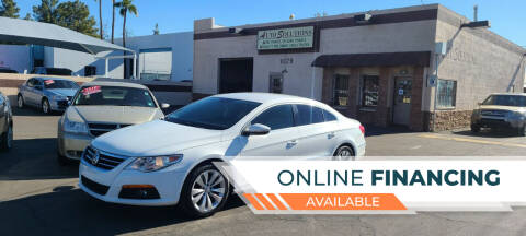 2010 Volkswagen CC for sale at Auto Solutions in Mesa AZ