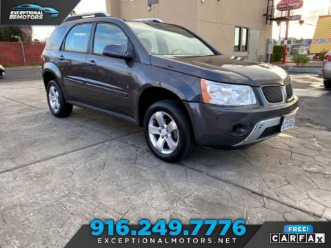 2007 Pontiac Torrent for sale at Exceptional Motors in Sacramento CA