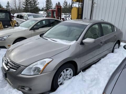 2012 Nissan Altima for sale at Al's Auto Inc. in Bruce Crossing MI