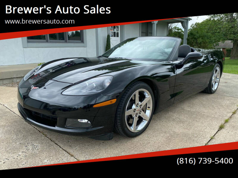 2008 Chevrolet Corvette for sale at Brewer's Auto Sales in Greenwood MO