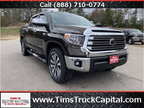 2018 Toyota Tundra for sale at TTC AUTO OUTLET/TIM'S TRUCK CAPITAL & AUTO SALES INC ANNEX in Epsom NH
