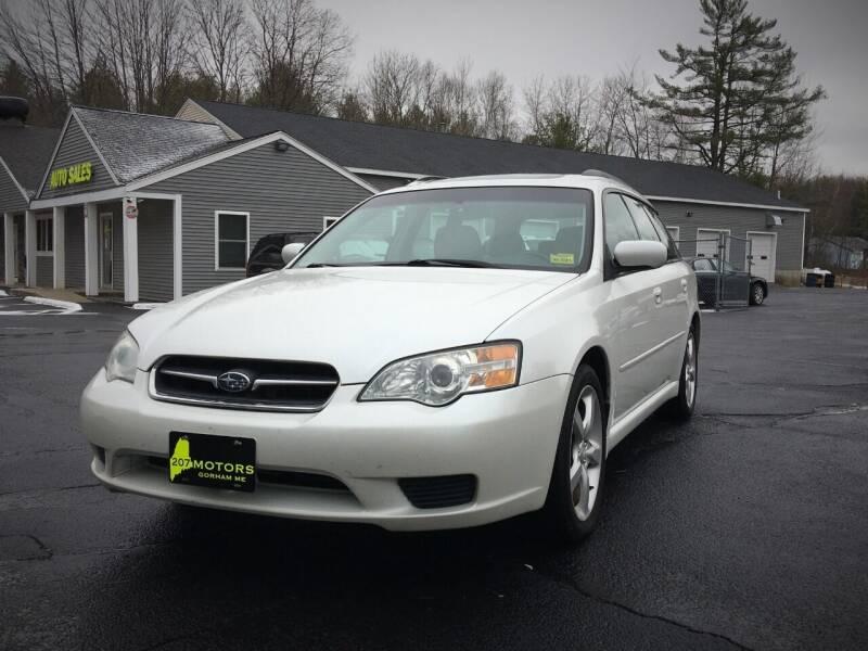 2007 Subaru Legacy for sale at 207 Motors in Gorham ME