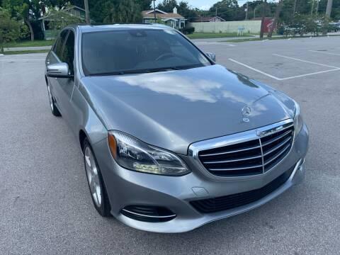 2014 Mercedes-Benz E-Class for sale at Consumer Auto Credit in Tampa FL