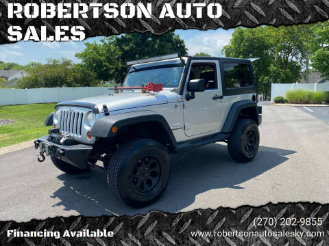 2010 Jeep Wrangler for sale at ROBERTSON AUTO SALES in Bowling Green KY