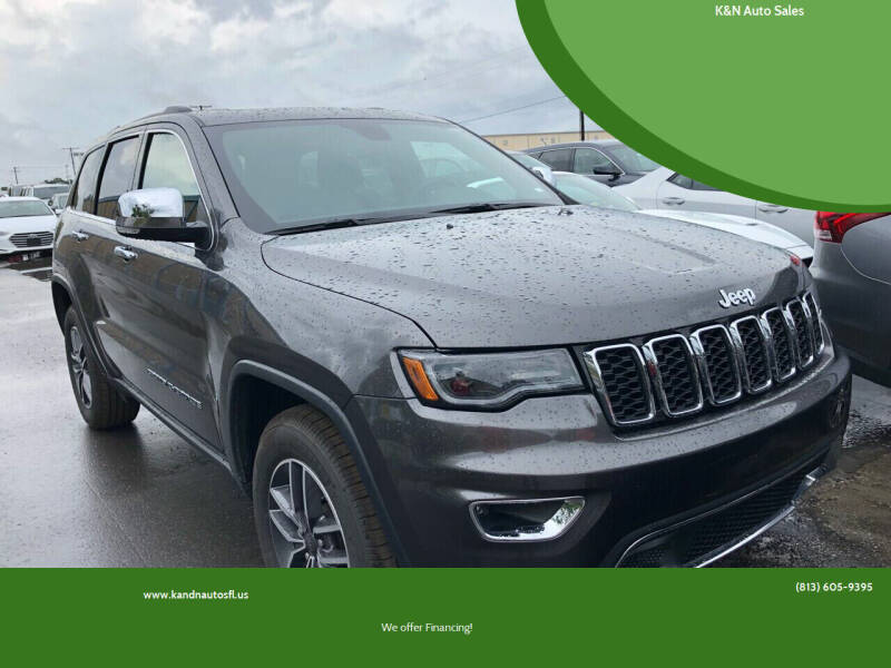 2019 Jeep Grand Cherokee for sale at K&N Auto Sales in Tampa FL