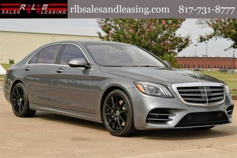 2020 Mercedes-Benz S-Class for sale at RLB Sales and Leasing in Fort Worth TX