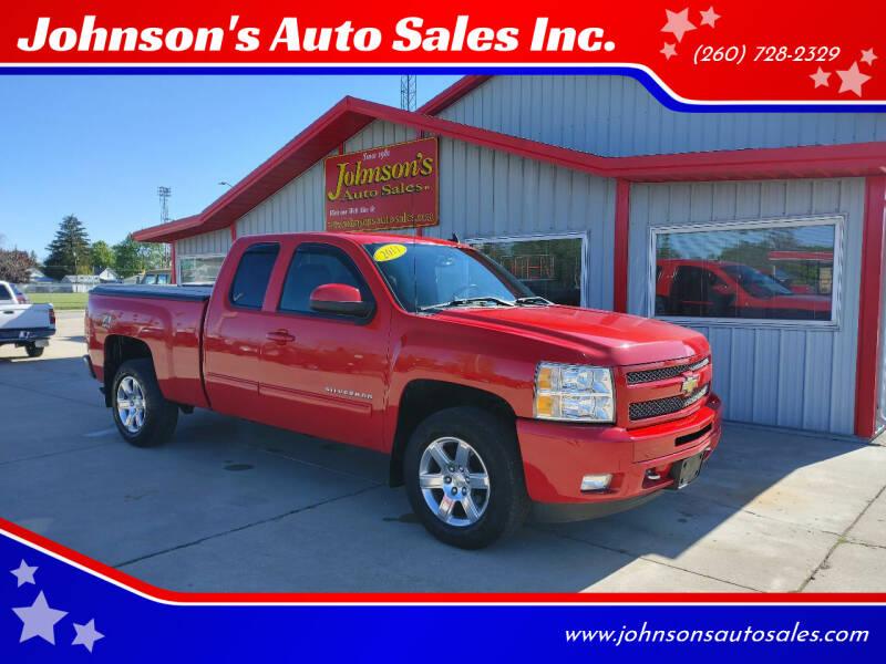 2011 Chevrolet Silverado 1500 for sale at Johnson's Auto Sales Inc. in Decatur IN
