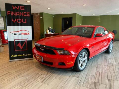 2012 Ford Mustang for sale at AutoMax in West Hartford CT