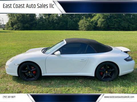 2007 Porsche 911 for sale at East Coast Auto Sales llc in Virginia Beach VA