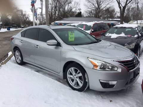 2014 Nissan Altima for sale at Antique Motors in Plymouth IN
