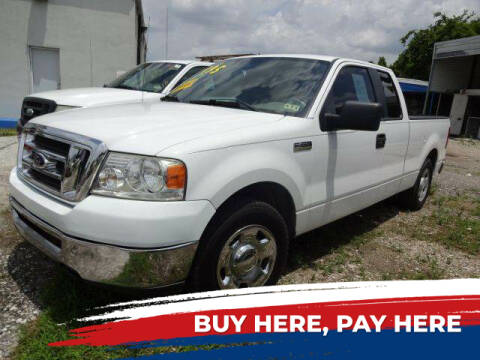 2008 Ford F-150 for sale at Northtown Auto Center in Houston TX
