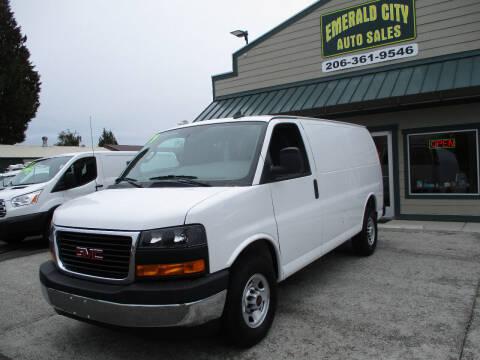 2019 GMC Savana Cargo for sale at Emerald City Auto Inc in Seattle WA