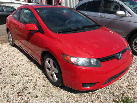 2006 Honda Civic for sale at Bay City Auto's in Mobile AL