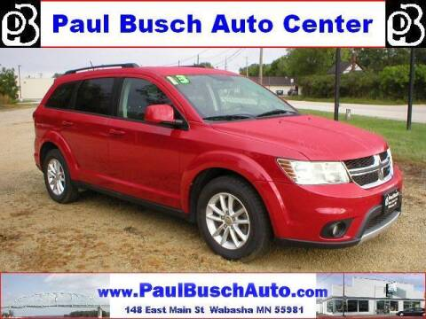 2013 Dodge Journey for sale at Paul Busch Auto Center Inc in Wabasha MN