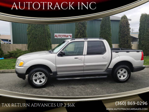 2005 Ford Explorer Sport Trac for sale at AUTOTRACK INC in Mount Vernon WA