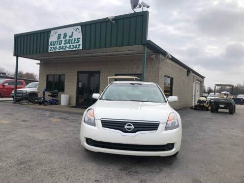 2007 Nissan Altima for sale at B & J Auto Sales in Auburn KY