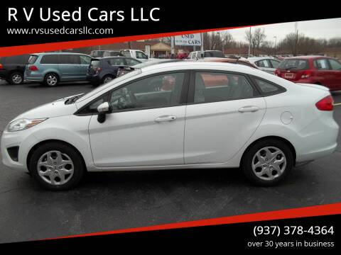2013 Ford Fiesta for sale at R V Used Cars LLC in Georgetown OH