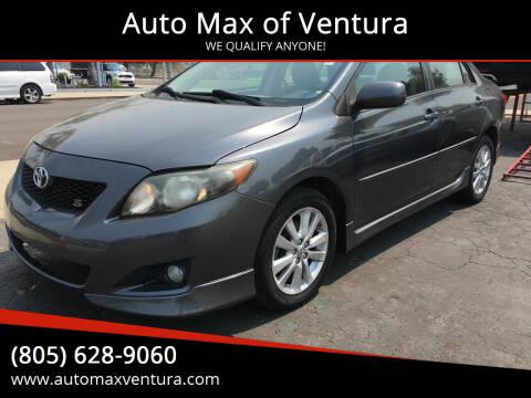 2010 Toyota Corolla for sale at Auto Max of Ventura in Ventura CA