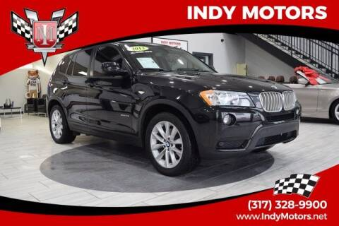 2013 BMW X3 for sale at Indy Motors Inc in Indianapolis IN