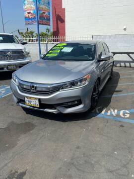 2017 Honda Accord for sale at LA PLAYITA AUTO SALES INC - 3271 E. Firestone Blvd Lot in South Gate CA