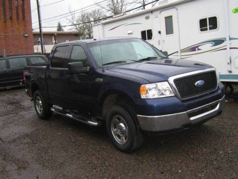 2008 Ford F-150 for sale at D & M Auto Sales in Corvallis OR