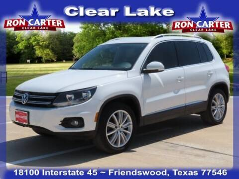 2014 Volkswagen Tiguan for sale at Ron Carter  Clear Lake Used Cars in Houston TX