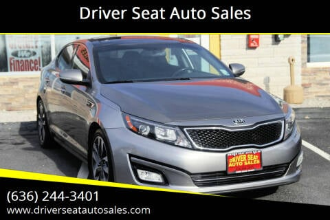 2015 Kia Optima for sale at Driver Seat Auto Sales in St. Charles MO