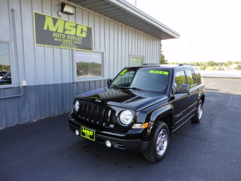 2012 Jeep Patriot for sale at Moss Service Center-MSC Auto Outlet in West Union IA