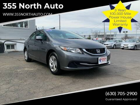 2013 Honda Civic for sale at 355 North Auto in Lombard IL
