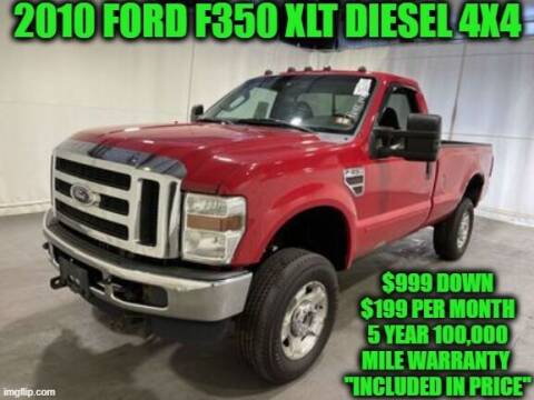 2010 Ford F-350 Super Duty for sale at D&D Auto Sales, LLC in Rowley MA