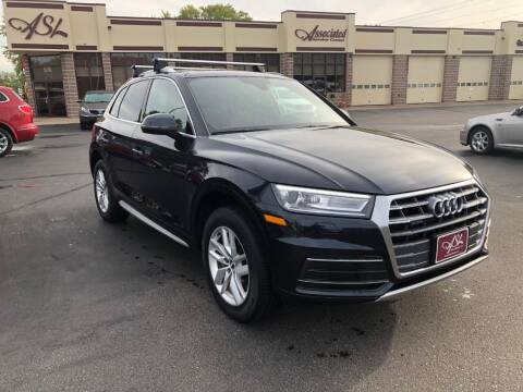 2020 Audi Q5 for sale at ASSOCIATED SALES & LEASING in Marshfield WI