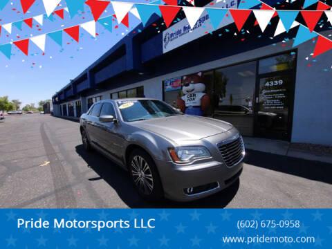 2012 Chrysler 300 for sale at Pride Motorsports LLC in Phoenix AZ