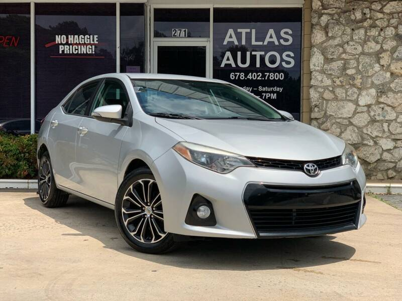 2014 Toyota Corolla for sale at ATLAS AUTOS in Marietta GA