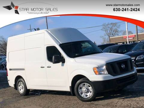 2018 Nissan NV Cargo for sale at Star Motor Sales in Downers Grove IL