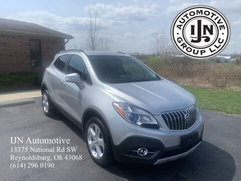2015 Buick Encore for sale at IJN Automotive Group LLC in Reynoldsburg OH
