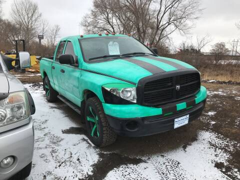 2008 Dodge Ram Pickup 1500 for sale at BARNES AUTO SALES in Mandan ND