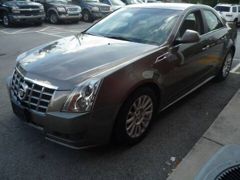 2012 Cadillac CTS for sale at Credit Cars LLC in Lawrenceville GA