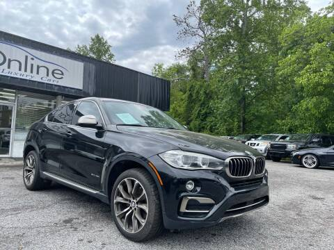 2016 BMW X6 for sale at Car Online in Roswell GA