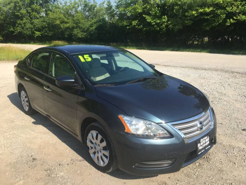 2015 Nissan Sentra for sale at ROUTE 6 AUTOMAX in Markham IL