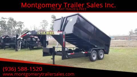 2021 US BUILT 7'X14'X4' Gooseneck 14K for sale at Montgomery Trailer Sales - U.S. Built in Conroe TX