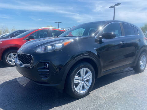 2017 Kia Sportage for sale at EAGLE ONE AUTO SALES in Leesburg OH