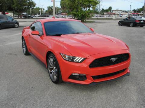 2015 Ford Mustang for sale at United Auto Center in Davie FL
