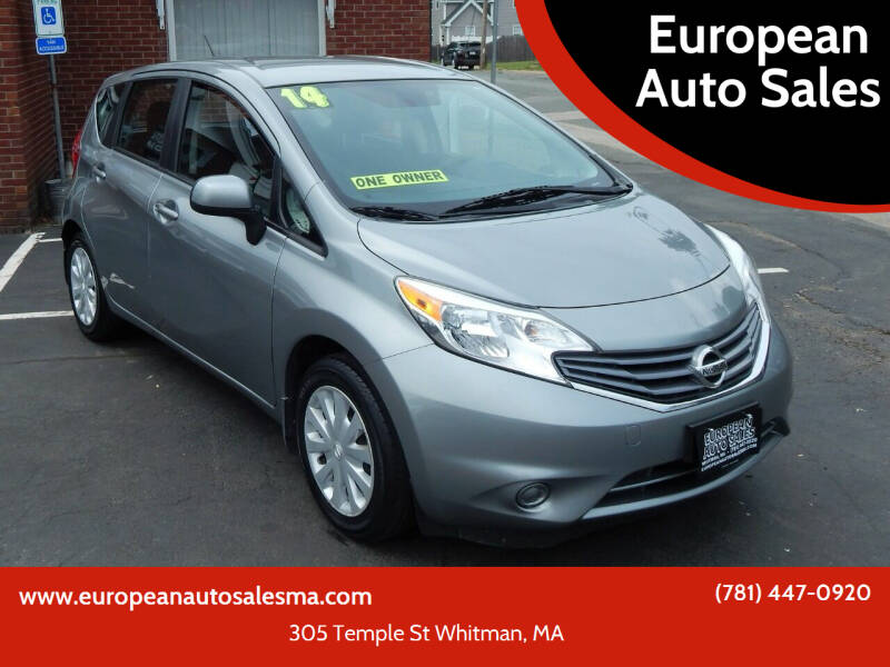 2014 Nissan Versa Note for sale at European Auto Sales in Whitman MA