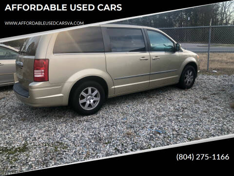 2010 Chrysler Town and Country for sale at AFFORDABLE USED CARS in Richmond VA